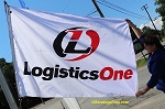 ..LOGISTICS ONE- Nylon Flags 4x6ft